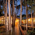 Stunning, Paperbark Restaurant at dusk