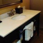 Bathroom was equally nice. Credit. www.AreYouThatWoman.com
