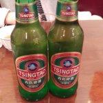 青島ビール。