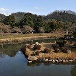 池泉回遊式の庭園