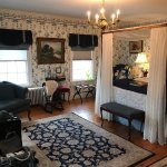 large room with beautiful antiques