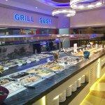 Un buffet self service