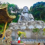 Buddha statue at Chin Swee Cave Temple