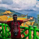 Me at Chin Swee Cave Temple