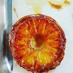 Pineapple & Malibu Tarte Tatin, coconut sorbet