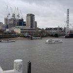 View towards the London Eye