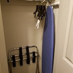 Small closet, but ample for one person. Maybe be a challenge for more than one person.