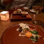 Räucheraal mit Schweinebauch und weißem Rioja, unglaublich, aber schmeckt unglaublich!