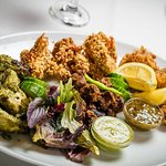 grilled mint& green chilli marinated chicken, Prawn achari and many more
