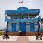 Una fachada igual a la original de la casa azul