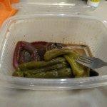Nos tuvimos que uno de los platos en tupper, tras hora y media sentados