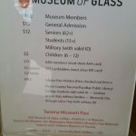 Museum of Glass visited on 1/27/2018