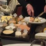 The legendary cheese trolley