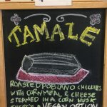 Tamales made fresh every day