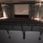 Projection theatre for maybe 150 folk