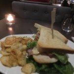 The club sandwich with the oldest chicken in the world