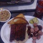 ribs & sausage
