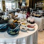 Altis Avenida Hotel, Lisbon - Top floor breakfast with breakfast buffet