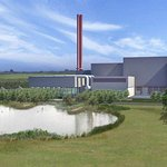 Planners' view of the waste incinerator.