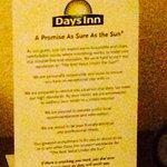 Foto de Days Inn Bath Hammondsport