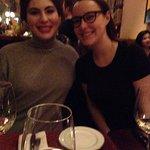 Dominique and Ari at Bistro Dominique