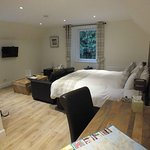 Spacious room upstairs in Old Coachhouse