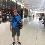 first visit inside Sandton City