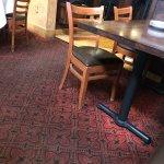 Dirty carpets at Bro Scottsdale!