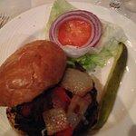 Eddie's Strip Burger -- steak and burger all in one