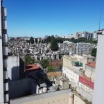 Looking out on to the Recoleta Cemetery
