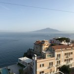 View from the Vesuvio Roof Restaurant, Mt. Vesuvius!!!