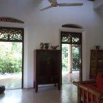 in the main villa