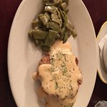 Chicken Fried Steak with Green Beans, Mashed Potatoes, and Gravy