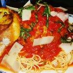 Velo GIANT Meatball with Spaghetti