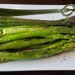Asparagus is our 2nd choice for side dishes!