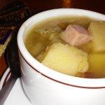 Ham/cabbage soup