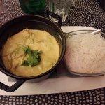 Cocotte thaï aux légumes (végétalien) curry et lait de coco