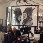 Kelly Blevins in Kensington exhibition