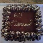 Che dire semplicemente meravigliosa! Torta con chantilly e frutti di bosco glassata al cioccolat