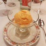 helado de postre