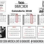 Venerdi al Baraonda con Cena, Musica e Karaoke