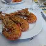 Fried gambas - melting in your mouth!