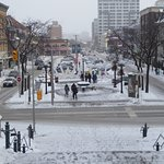 Looking down back to Byward Market
