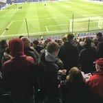 Away fans in abundance