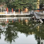 Photo of Huu Tiep Lake and the Downed B-52