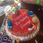 George's 7th Birthday......Thank you Kelly's Ice House