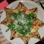Pizza della casa....una vera stella!