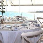 Restaurant El Mirador de La Daurada vistas al mar y a la playa de Vilanova