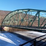 Vermont, bridge, Connecticut River, and New Hampshire from Whetstone Station