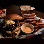 Onion marmalade burger! Perfect sweet and salty combination! Loved.